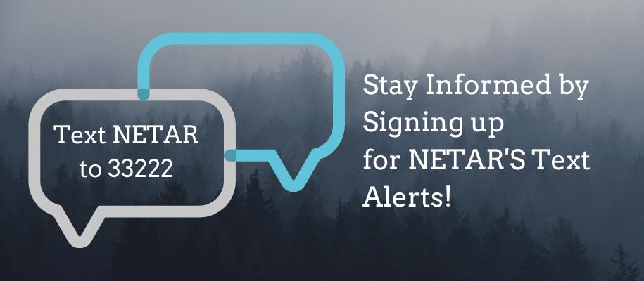 NETAR Text Sign Up