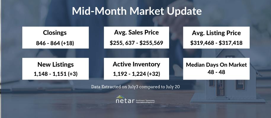 June Mid-month market update